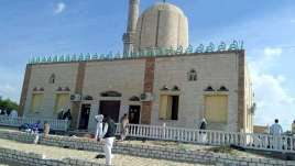 The militants targeted a mosque in Bir al-Abed west of al-Arish